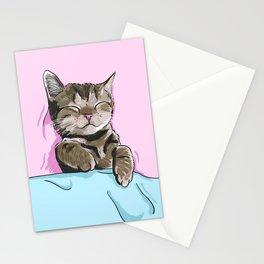 Sleeping Cat Stationery Cards