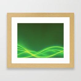 Ecclectic Waves Framed Art Print
