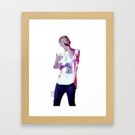 Rap Monster 2 Framed Art Print