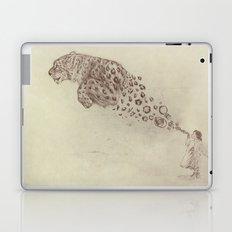 Bubbles the Snow Leopard Laptop & iPad Skin