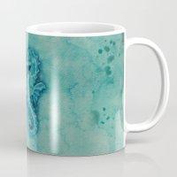 seahorse Mugs featuring seahorse by Diane Nicholson