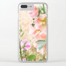 Ruffles in a Wheat Field Clear iPhone Case