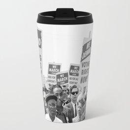 March on Washington Protest, 1963 Travel Mug