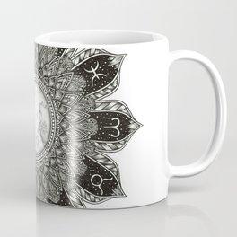 Astrology Signs Mandala Coffee Mug