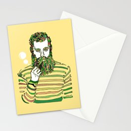 Sea Wolf Ghost (Yellow Version) Stationery Cards