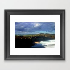 Headlands - Australia Framed Art Print