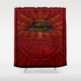 STOP WATCHING US - 001 Shower Curtain