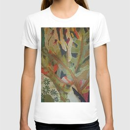 Exotic abstract patterns of nature T-shirt