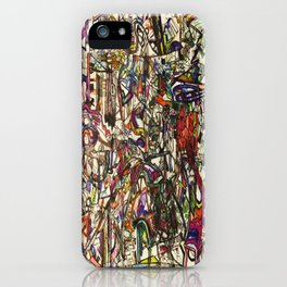 Witchcraft Abstract iPhone Case