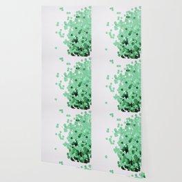 Glitz-Green Wallpaper
