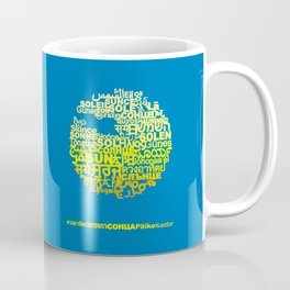 Sun in Different Languages Coffee Mug
