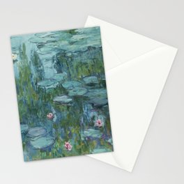 Nymphéas, Claude Monet Stationery Cards