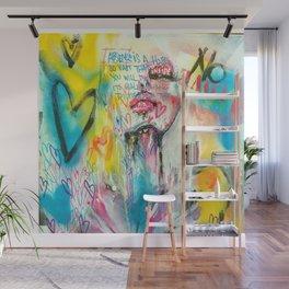 528 Hertz Wall Mural