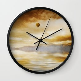 Hot Air Balloon Escape Wall Clock