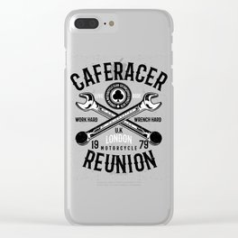 Cafe Racer Reunion Clear iPhone Case