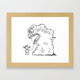 Sally's New Pet Framed Art Print