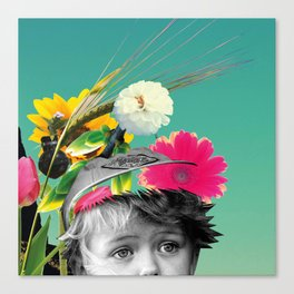 Pollen Thoughts Canvas Print