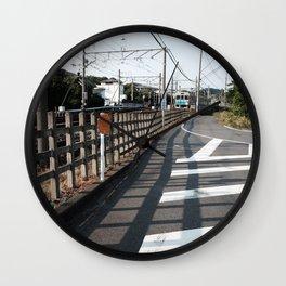 Railroad Wall Clock
