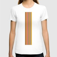 stripe T-shirts featuring stripe by Kurt Cyr
