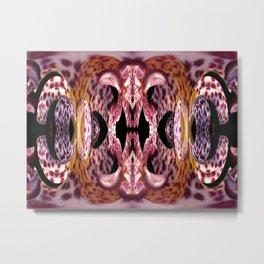 Empress Abstract Metal Print