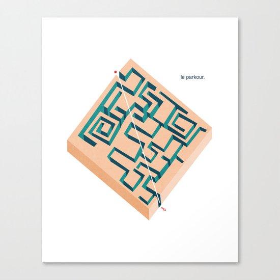 Le Parkour Canvas Print