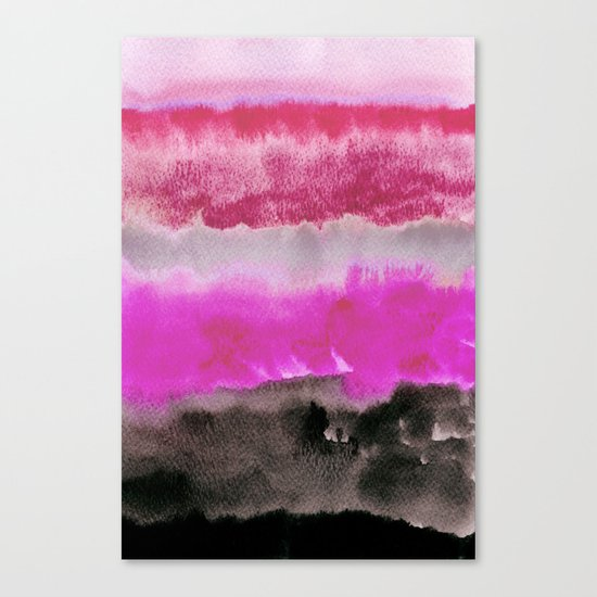 Layered Landscape Canvas Print