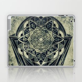 Sacred Geometry for your daily life -  Galactic OHM Laptop & iPad Skin