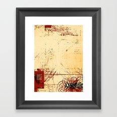 balance 20 Framed Art Print