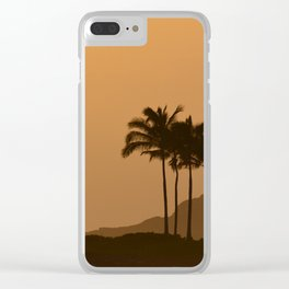 Sunset in Kauai Clear iPhone Case