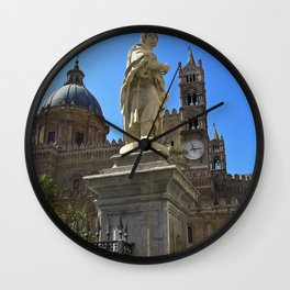 Cathedrale of PALERMO Wall Clock