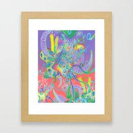 Alien Organism 18 Framed Art Print