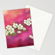 Cherry Blossom Sky Stationery Cards