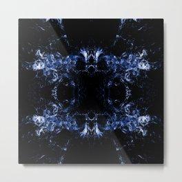 Blue Chaos Metal Print