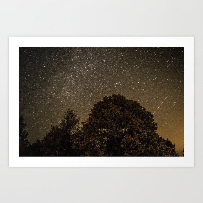 Starry Night Sky 2 Art Print