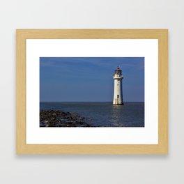 New Brighton Lighthouse Framed Art Print