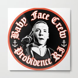 Baby Face Providence Crew Metal Print