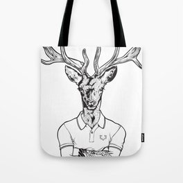 bambi's a grown up now  Black Tote Bag