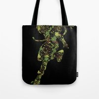 street fighter Tote Bags featuring Street Fighter Cammy by vanityfacade