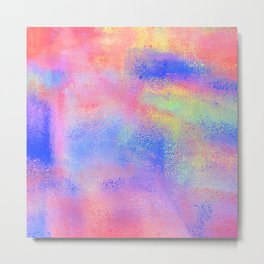 Where There's Life, There's Hope: Abstract Design Metal Print