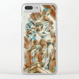Sculpture - Paris France - Arc de Triomphe Clear iPhone Case