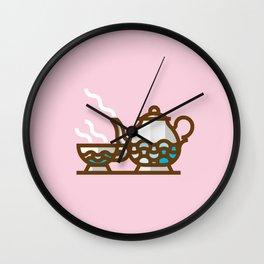 English Tea time Wall Clock