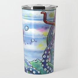 Bath Time Octopus Travel Mug