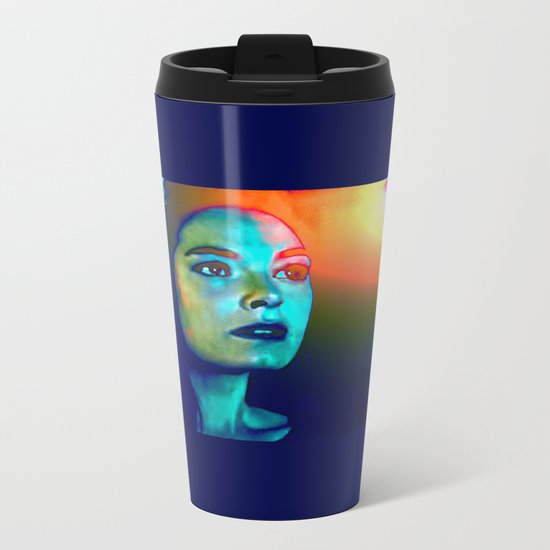 Moment of the Aftermath Metal Travel Mug