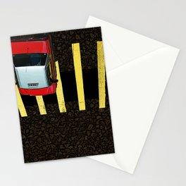 Inverted Taxi Stationery Cards