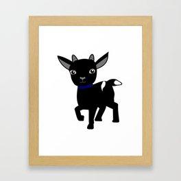 Micky the Goat Framed Art Print