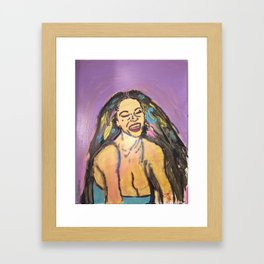 I am Black Girl Magic 3 Framed Art Print
