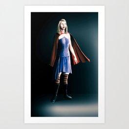 The hero inside us! Art Print