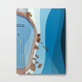 Bronte Baths Ocean Pool  Metal Print