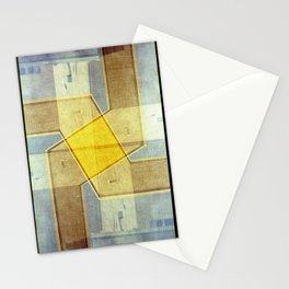 A million bright ambassadors of morning (35mm multiple exposure) Stationery Cards