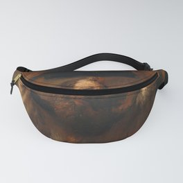 Moses with the Ten Commandments - Rembrandt Fanny Pack